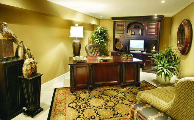 Plan ahead when planning a home office