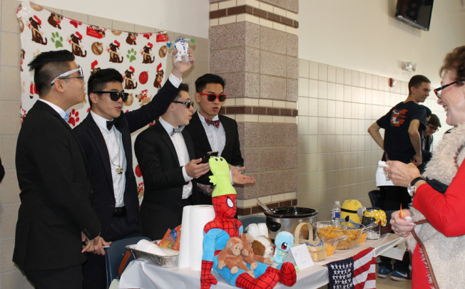 Singing chefs at Sachse High