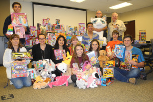 Many toys were collected at last year's toy drive.