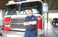 Firefighter honored as employee of the quarter