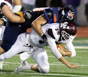 Joe Diehl/The Sachse News Could Sachse-Wylie matchups be part of a future district schedule? That'll depend on what happens at the Feb. 1 redistricting, which will include Wylie moving up to Class 6A.