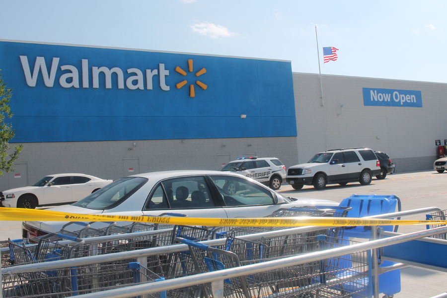 Two airlifted after stabbing at Princeton Walmart