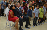President Bush dedicates school
