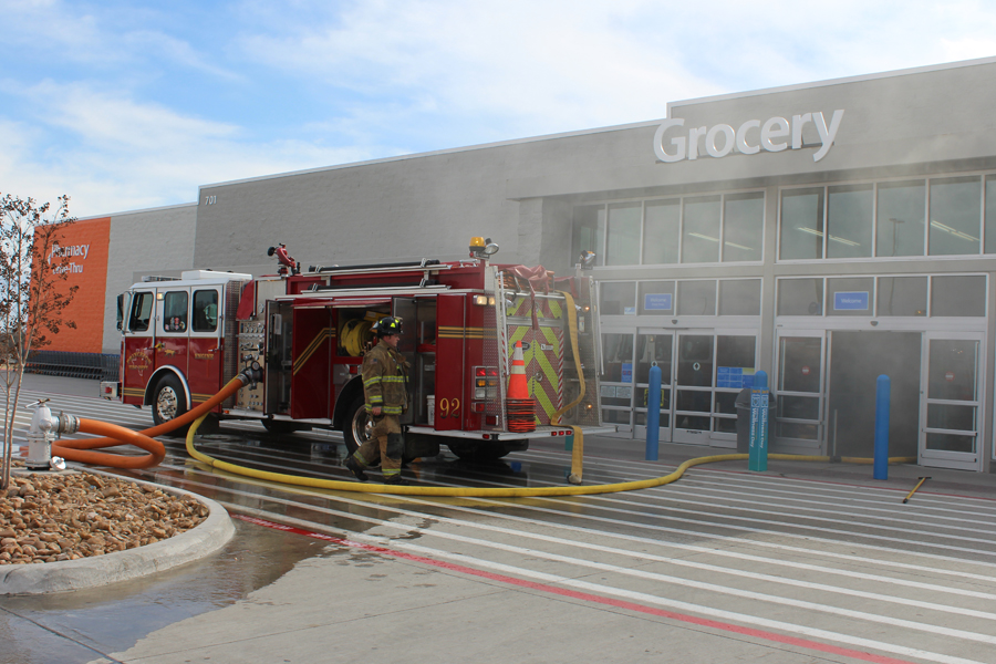 Princeton Walmart suffers severe damage after fire; suspect arrested