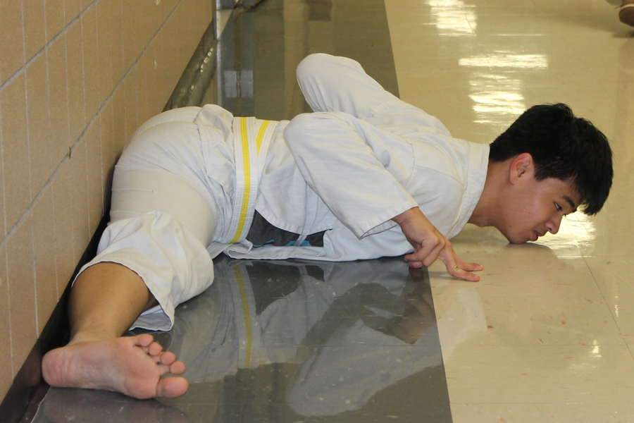 Martial arts training teaches discipline