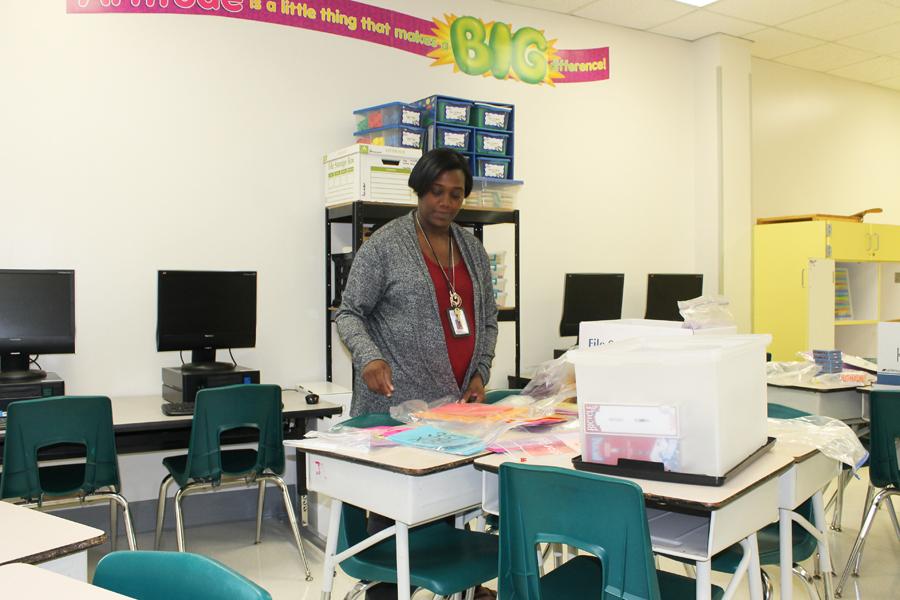 Math teacher sums up classroom approach