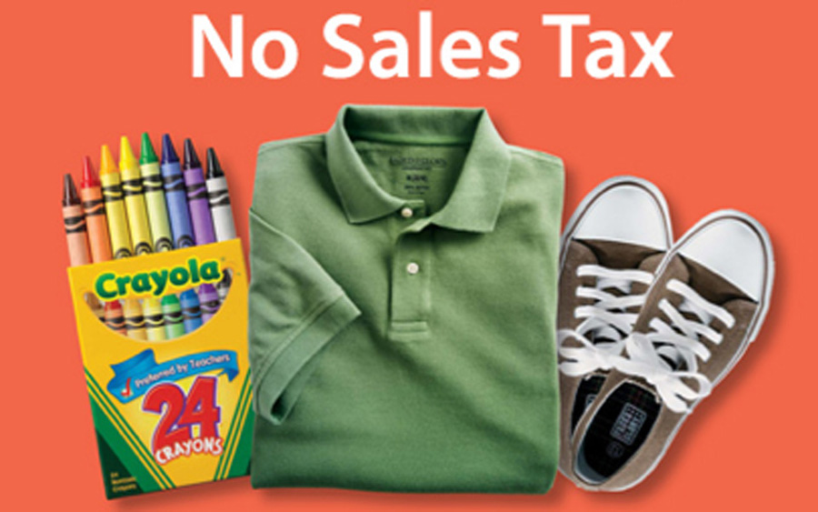 Sales tax holiday this weekend