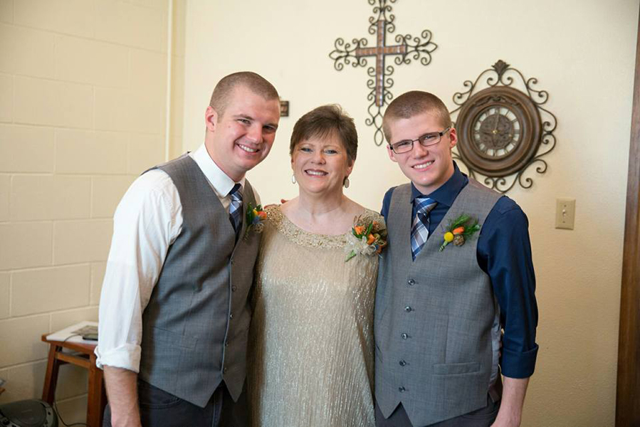 Fighting breast cancer with faith and family