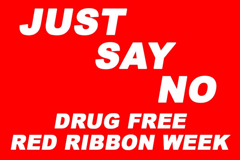 Red Ribbon Week across Garland ISD