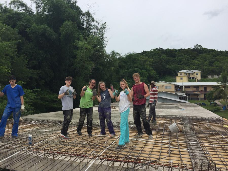 Sachse teens serve in Jamaica