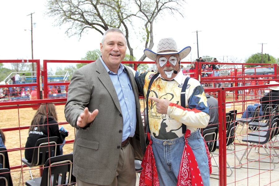 Clownin' around at the rodeo