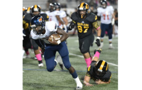 Mustangs run past rivals in 10-6A matchup