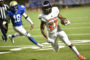 Mustangs outscore Patriots 21-7 in fourth quarter
