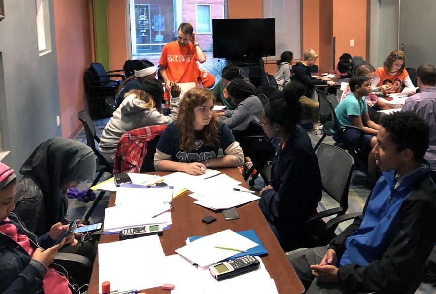 Students find formula for success