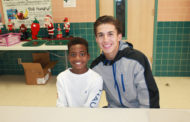 Team of Baseball Buddies mentors younger students