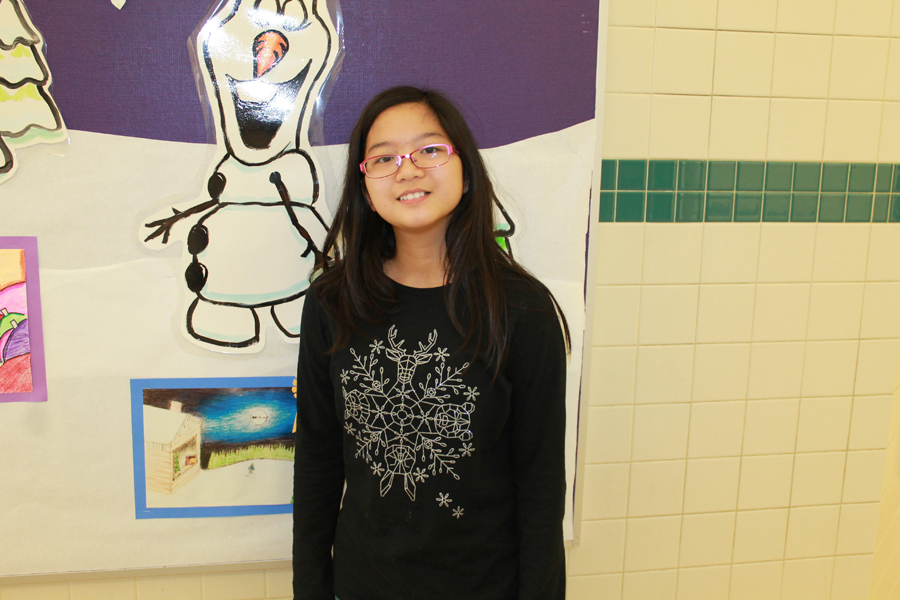 Sachse student wins GISD greeting card contest