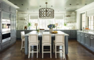 Fresh colors and textures for a functional kitchen style