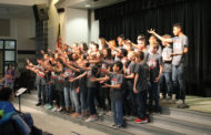 Video: Hudson Middle School choir performs at carnival