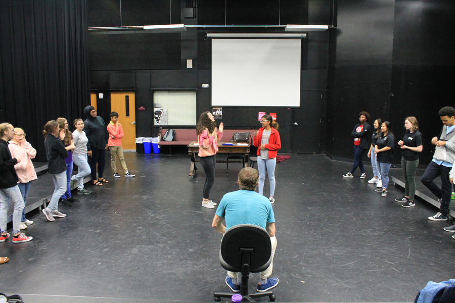 Video: WHS improv troupe rehearses