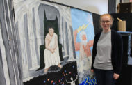 Art students paint legendary murals for prom