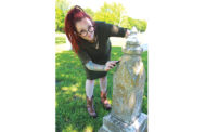 Local woman passionate about bringing life back to tombstones