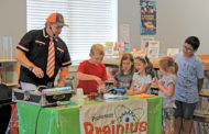 Library events combine science and reading
