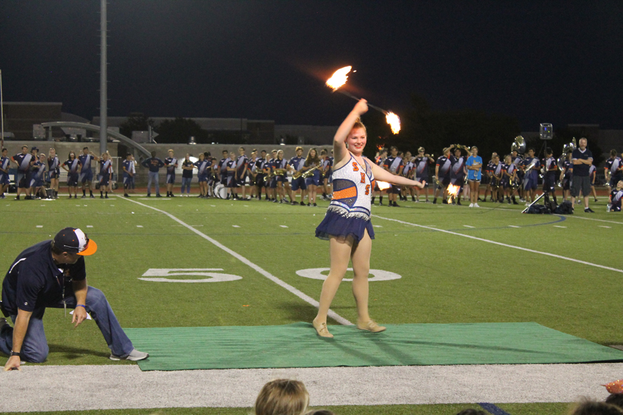 Video: SHS junior brings the fire