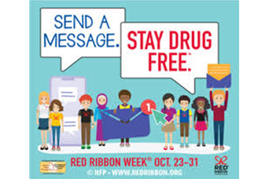 Students pledge to say no to drugs