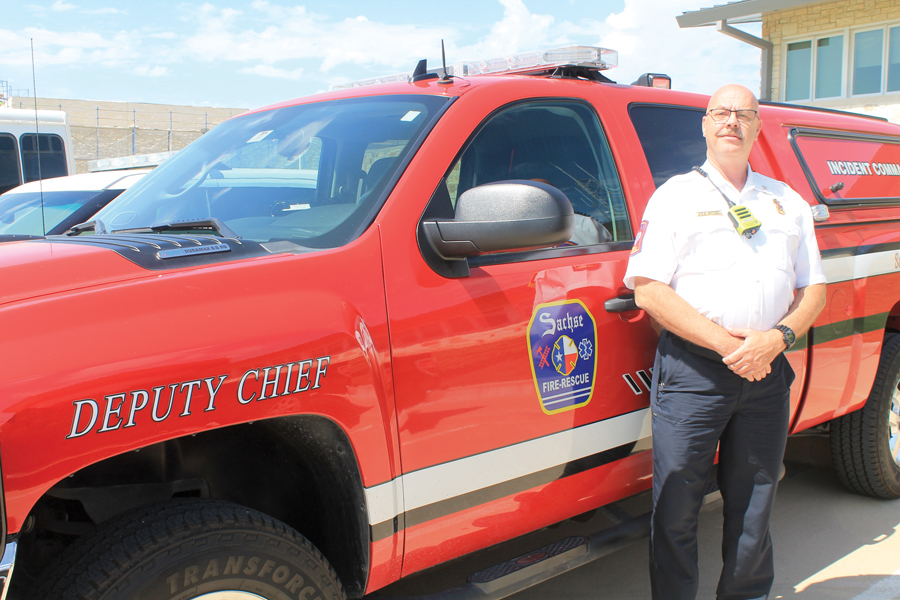 New deputy fire chief ready to serve