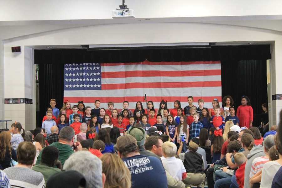 Video: Armstrong third graders perform a song