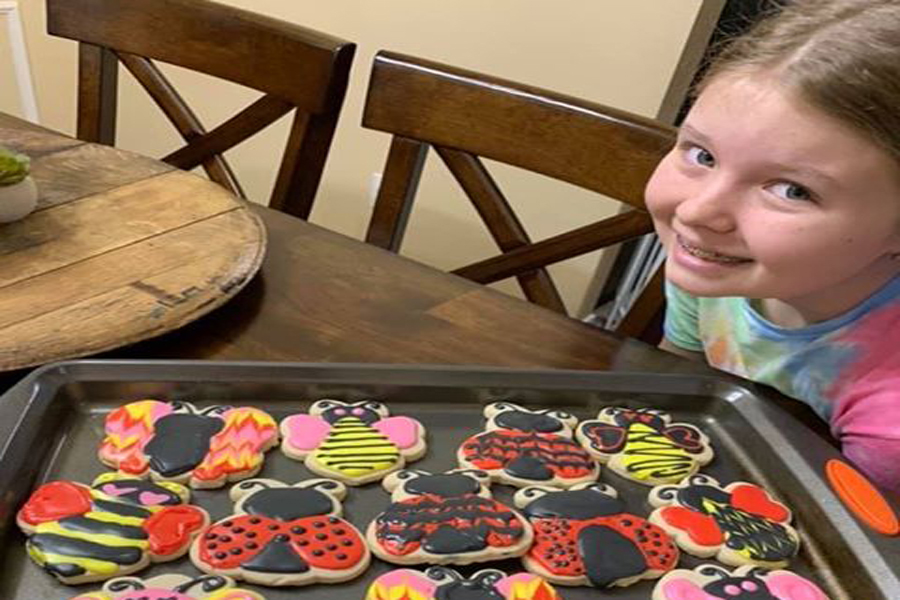 Spreading smiles through baking