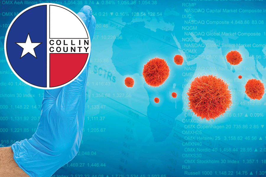 Collin County reports 101 new COVID cases