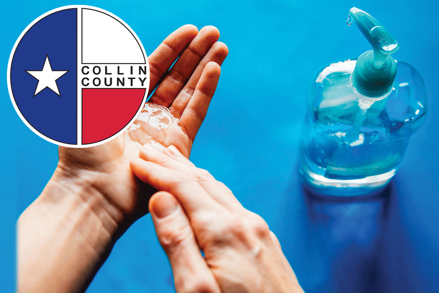 Reported COVID cases drop in Collin County today