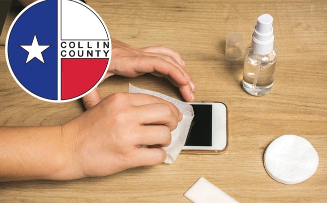 Collin County reported COVID cases dip