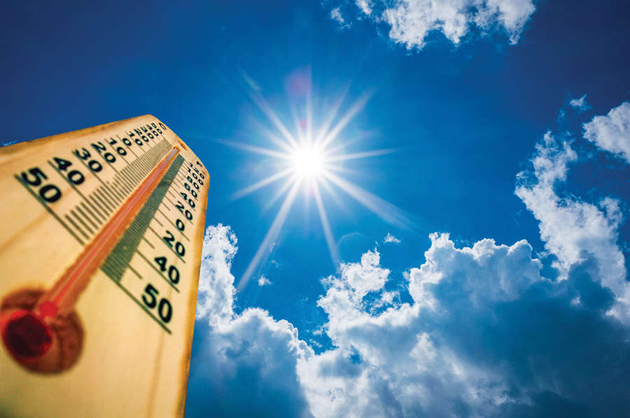 Take extra precautions as temperatures rise
