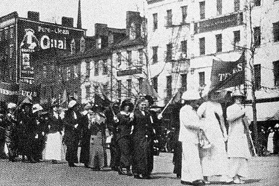 Celebrating centennial of women's right to vote