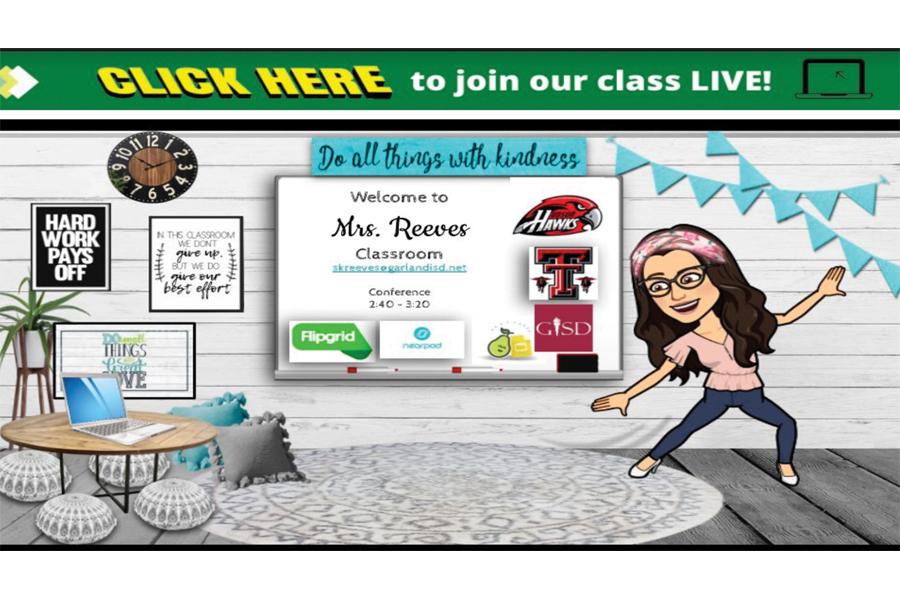Teachers jazz up virtual classrooms with Bitmoji