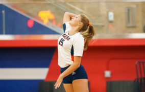 Lady Mustangs return to court, sweep district opponents