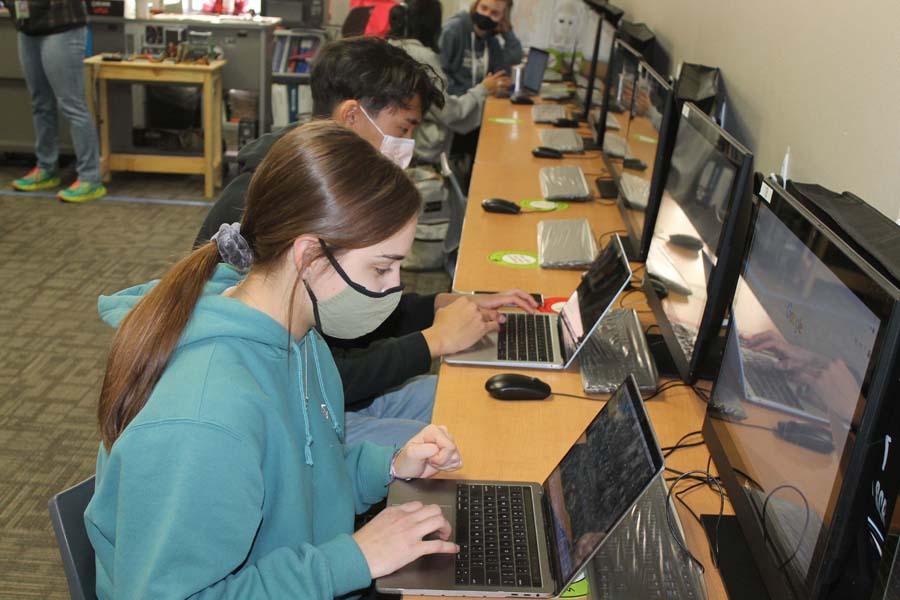 Students earn tech skills