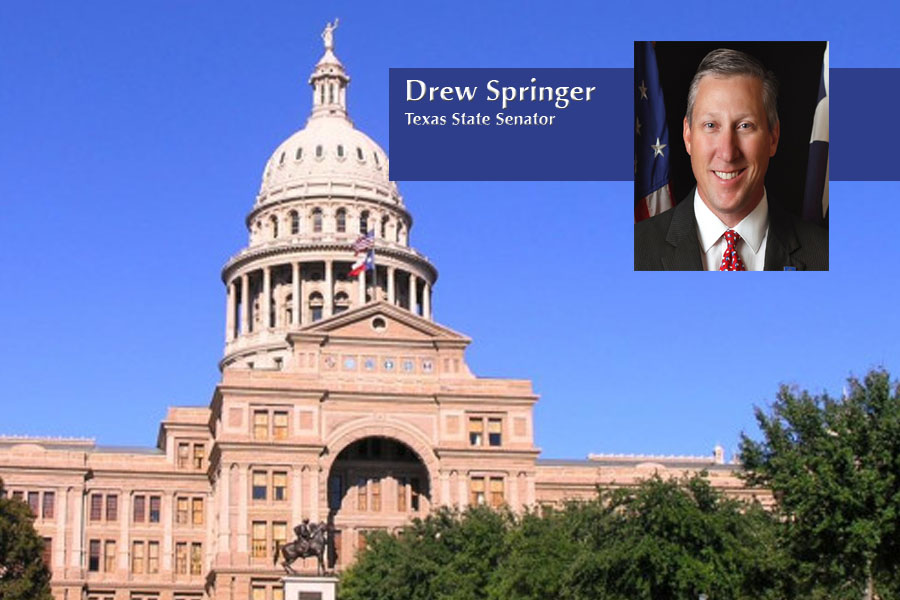 State newcomer talks politics