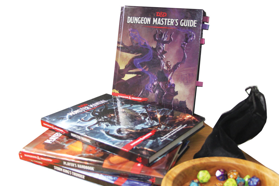 Library to host D&D