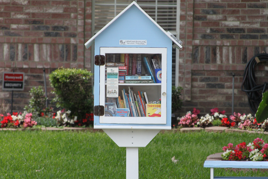 Little Free Libraries promote literacy