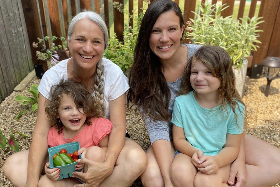 Homeowner goes on a kitchen garden adventure